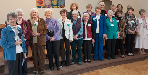 Past Presidents of the Port Townsend branch